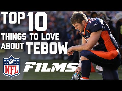 Top 10 Things to Love About Tim Tebow | NFL Films