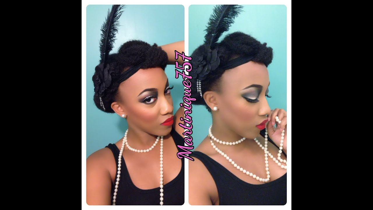 Great Gatsby Hairstyles For Natural Hair