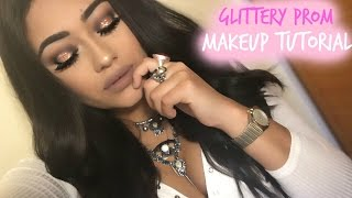Copper Glitter Prom Tutorial ft. Dose of Colors, Violet Voss & More! | Michelle Andrade
