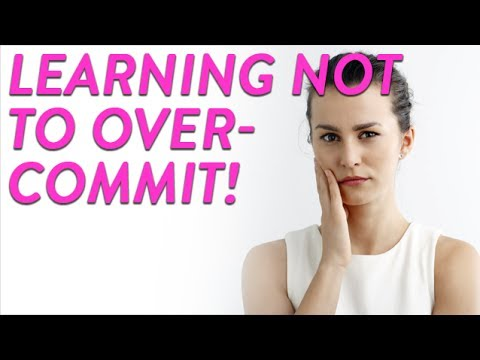 Learning Not To Overcommit! | CloudMom