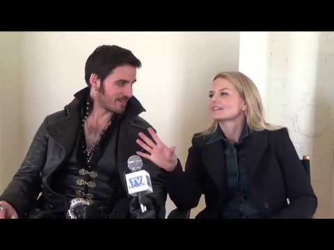 Once Upon a Time Set Interview: Colin O'Donaghue and Jennifer Morrison