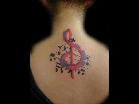Tatuajes De Clave De Sol Ideas Para Tu Tatuaje Youtube