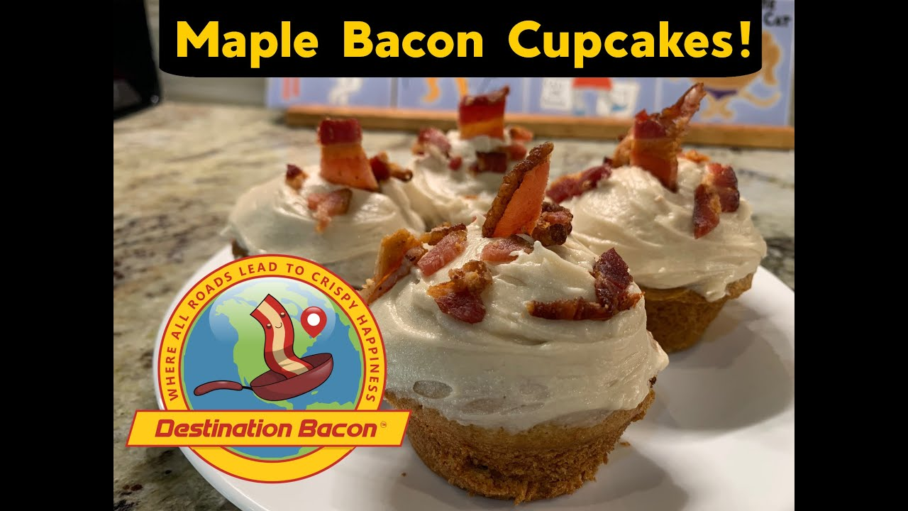 How to Make Maple Bacon Muffins/Cupcakes