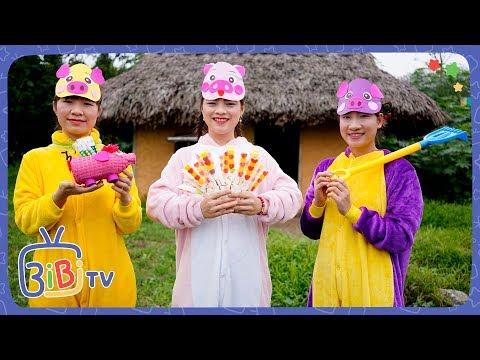 Ba Chú Heo Con – Bài Học Đoàn Kết Là Sức Mạnh ❤ BIBI TV ❤