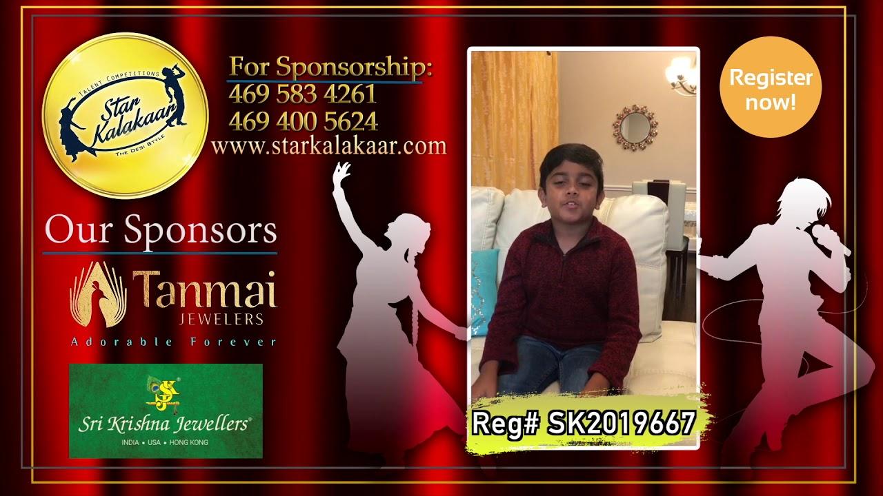 Registration NO - SK2019667 - Introduction Videos StarKalakaar-2019 #SK2019