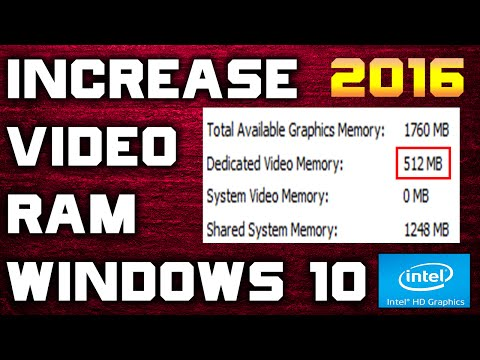 How To Increase Your Dedicated Video Ram Memory On Your Asus motherboard - 2016 Updated [Windows 10]