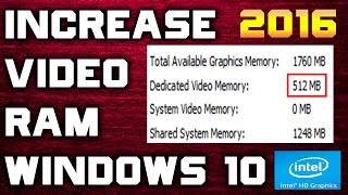 Video How To Increase Your Dedicated Video Ram Memory On Your Asus motherboard - 2016 Updated [Windows 10] download MP3, 3GP, MP4, WEBM, AVI, FLV Desember 2017
