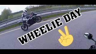 Wheelie Day   GSXR-600 Mieser Auspuff!!   MotoVlog#8