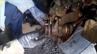 Форд Фокус 3 замена колесной шпильки передней ступицы(, 2015-03-21T14:51:49.000Z)