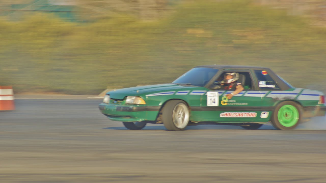 American Muscle Can Drift Too Fox Body Mustang Drifting