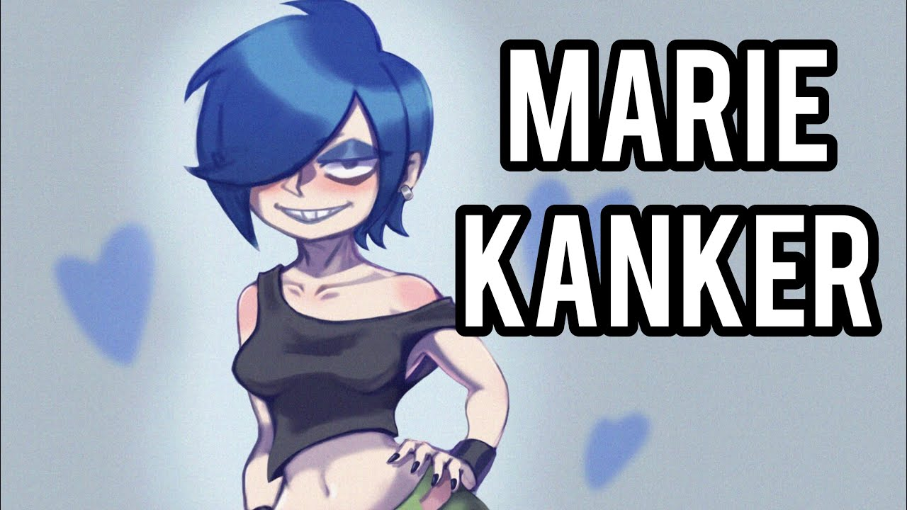 Ed Edd N Eddy Marie Kanker Speed Paint Procreate Youtube Kanker marie kanker stickers designed by schoolclothes as well as other marie kanker merchandise at teepublic. ed edd n eddy marie kanker speed