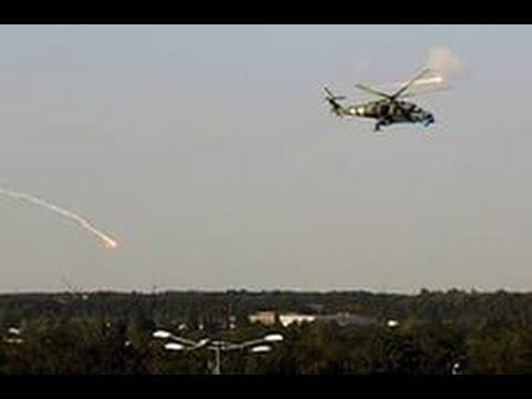 Бой, артобстрел на блок-посту под Лисичанском 19.07.2014.