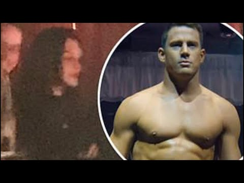 Jessie J UNEDITED EXCLUSIVE VIDEO with Channing Tatum Magic Mike Live London - Dancing with Friends Mp3