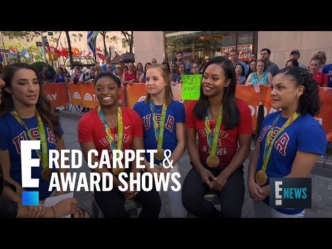 US Olympic Gymnasts Reveal Celeb Crushes  E! Live from the Red Carpet
