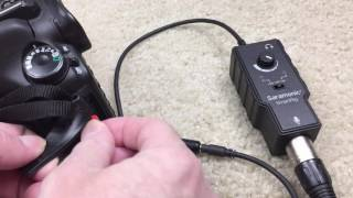 Learn How To Get Clean Audio From A Shotgun Microphone Into A Digital SLR Camera With A Cheap PreAmp