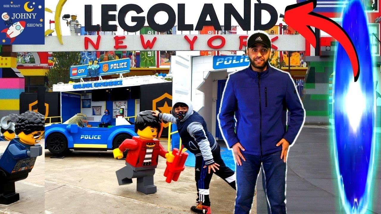 Johny Shows Teleports To LEGOLAND NEW YORK On Lego Army Train Full Park Tour