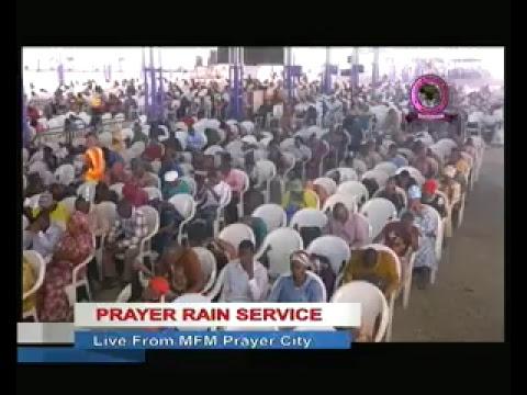 Prayer Rain Friday May 26th 2017