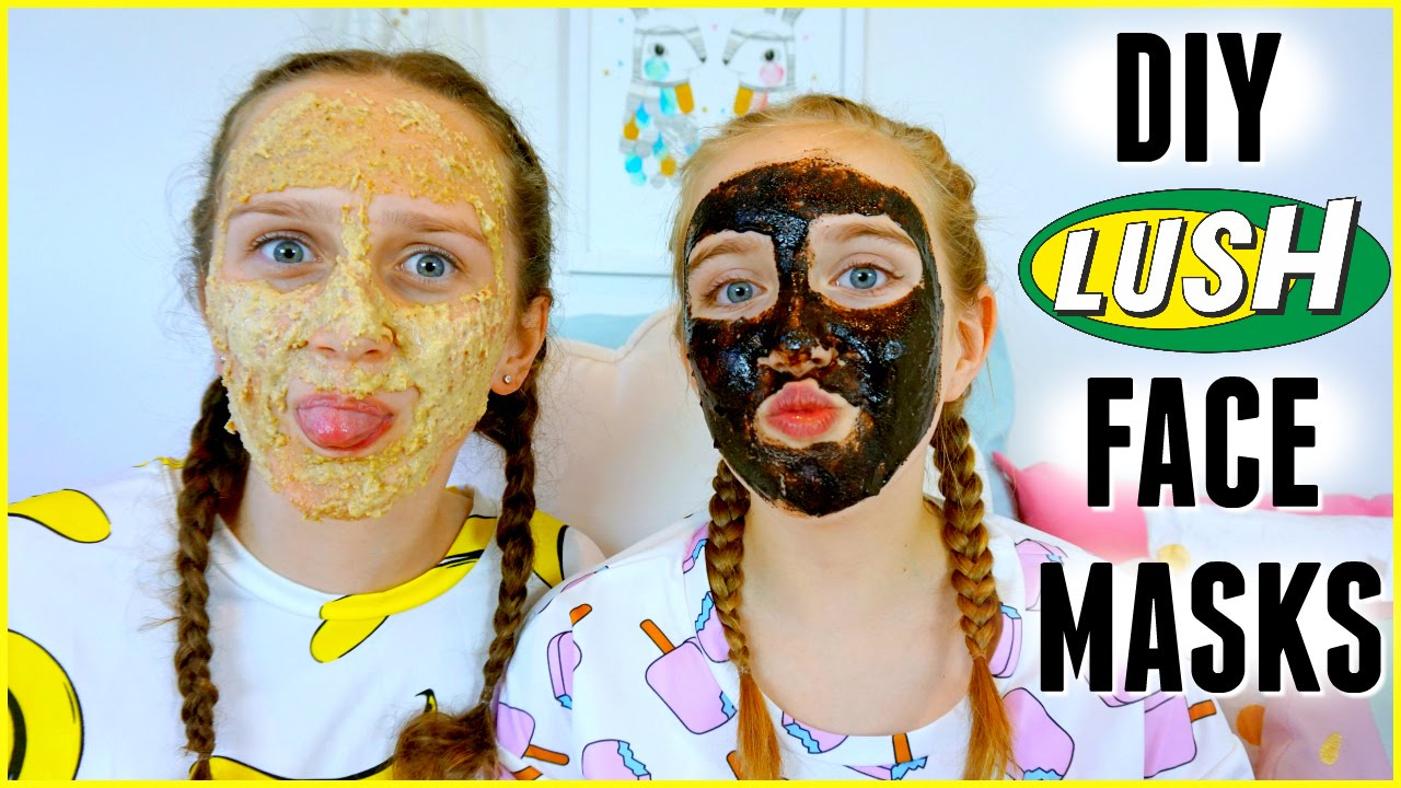 diy lush face mask