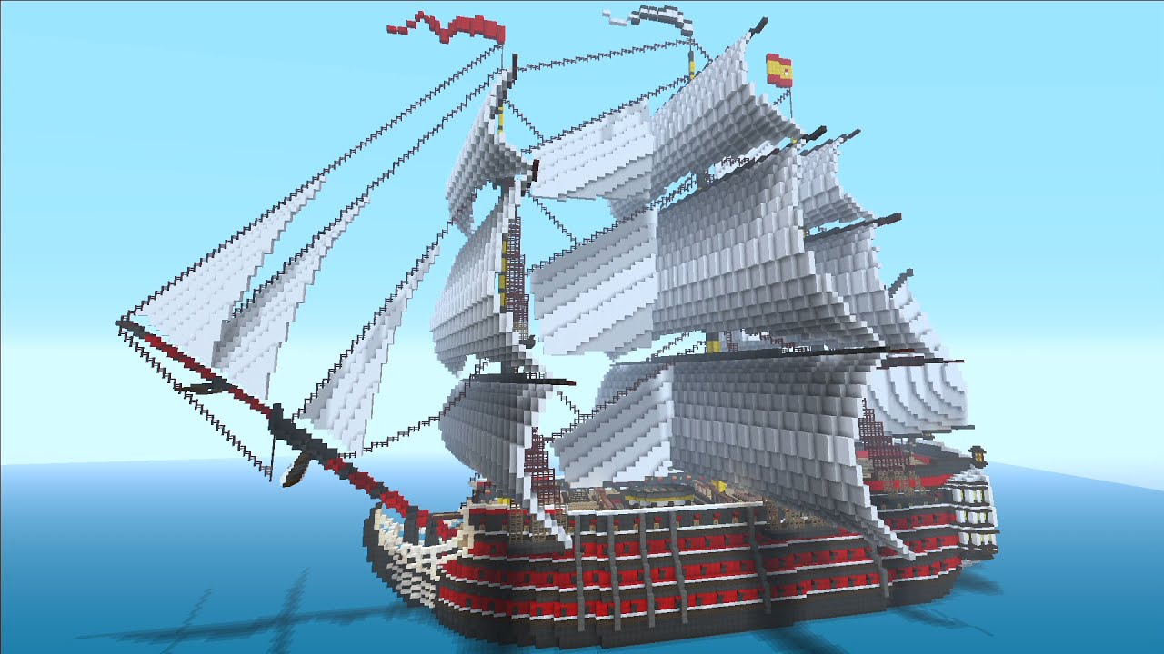 Manovar - ship in Minecraft: review, history and interesting facts