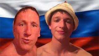 MY EXPERIENCE IN A RUSSIAN BANYA!!! | русская баня