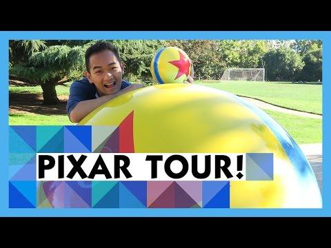 Full Tour of Disney Pixar Animation Studios!! (Private Tour!)