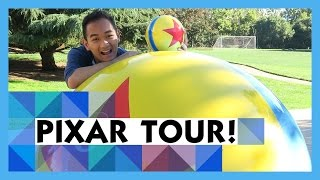 Full Tour of Disney Pixar Animation Studios!! (Private Tour!)