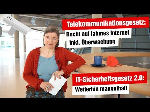 Telekommunikationsmodernisierungsgesetz und IT-Sicherheitsgesetz 2.0 (Ausschussreport, 21.04.2021)