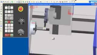 Demonstração Torno Siemens 802T