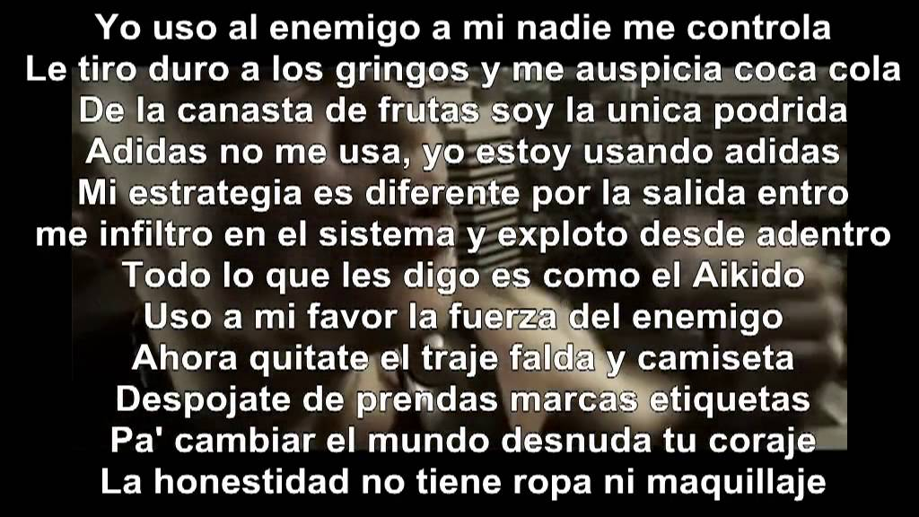 Traduction Calma Pueblo Calle 13 Paroles De Chanson