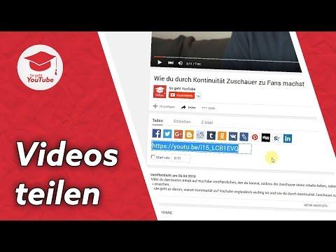 YouTube Video teilen: So geht's | QuickTipp