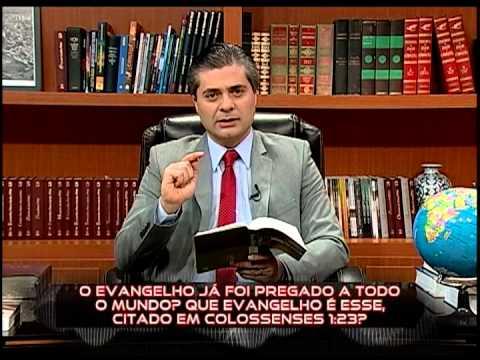 Na Mira da Verdade - O espirito santo ao se manifestar, pode derrubar as pessoas 30.07.2013