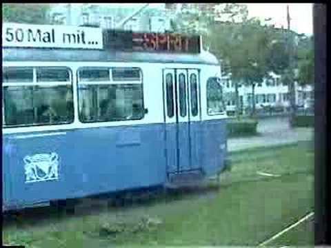 Zurich Trolley Ride