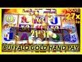 💰8 SPINS BUFFALO GOLD HAND PAY @ Graton Casino | 6000 SUBS!!! | NorCal Slot Guy