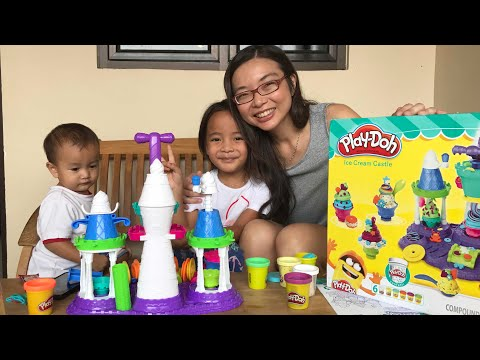 Rejeki Anak Rajin   Zara dapat Surprise Playdoh Ice Cream Castle dari Tante Sophia