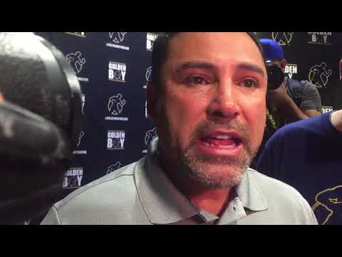 OSCAR DE LA HOYA EXPLAINS WHY HE CALLED OUT MCGREGOR? ANSWERS MAYWEATHER JEALOUSY & HYPOCRITE CLAIMS