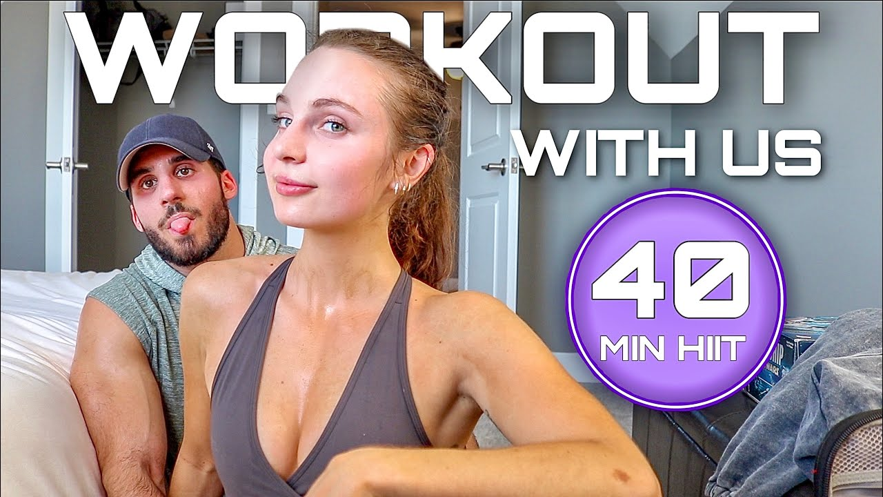 40 MINUTE TOTAL BODY WORKOUT | no equipment, at-home, follow along with us!