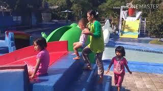 Waterboom Paseh banyak mainan anak-anaknya,seru teman-teman😄😄😄!!!