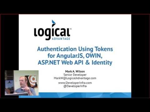 Lunch & Learn: Authentication Using Tokens for Angular JS, OWIN, ASP.NET Web API & Identity