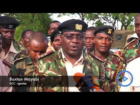 Security agencies and elders vow to end conflict along Meru Isiolo border