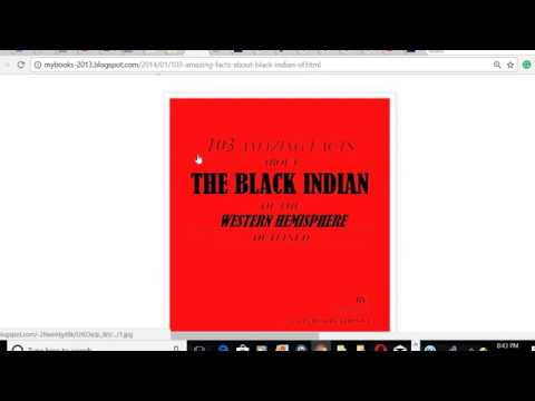 103 fact about the black indians of western hemisphere