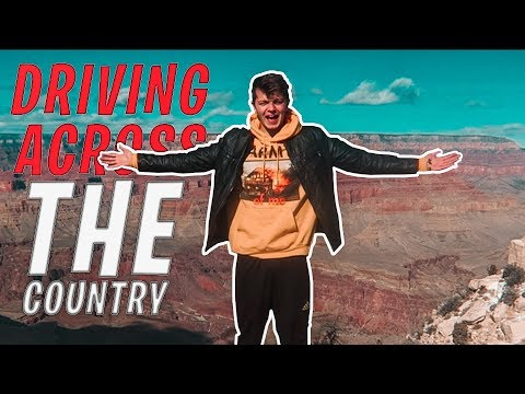 DRIVING ACROSS THE COUNTRY (ROAD TRIP VLOG)