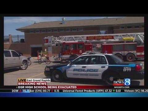 East Grand Rapids High School evacuated