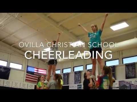 Ovilla Christian School Cheerleading Team