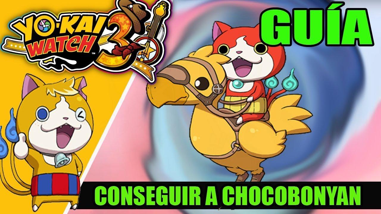 All Tips Barbilla Cia Guía Yo Kai Watch 3 Cómo Conseguir A Chocobonyan