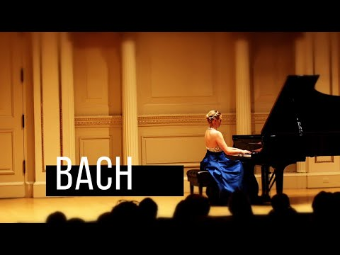 "Kara Huber- Bach Capriccio ""On the departure of a beloved brother"" in B-flat BWV 992"