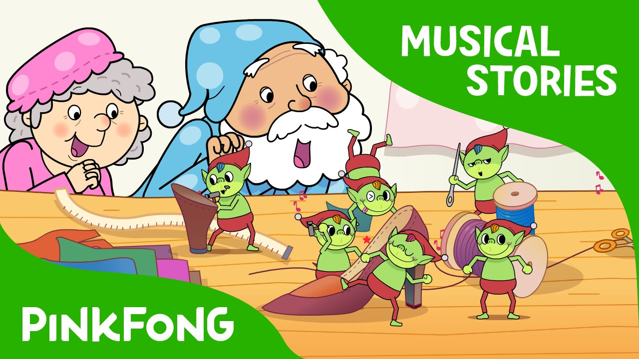 The Shoemaker and the Elves | Fairy Tales | Musical | PINKFONG ...