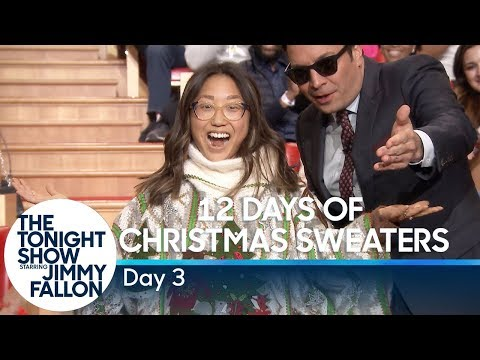 12 Days of Christmas Sweaters 2019:Day 3