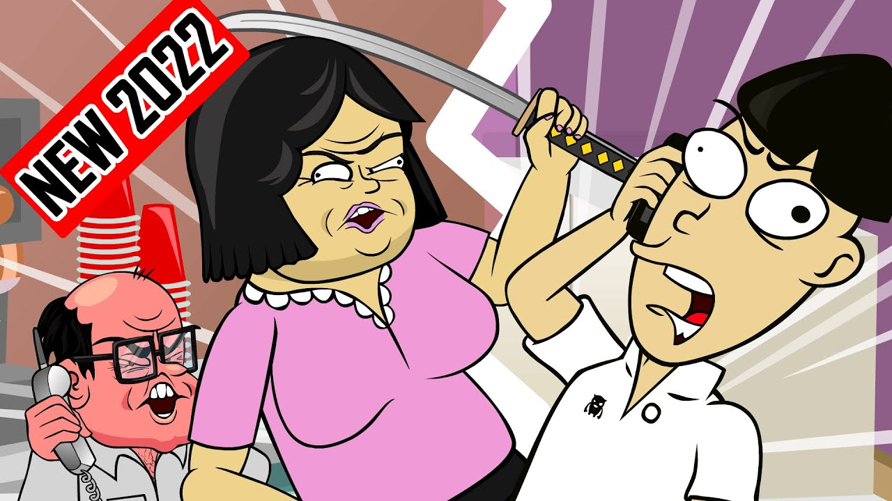 Angry Asian Restaurant Prank FULL Version (Part 1 & 2 animated)