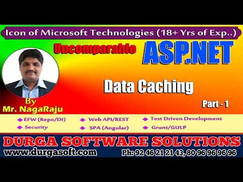 ASP.NET || Data Caching Part -1