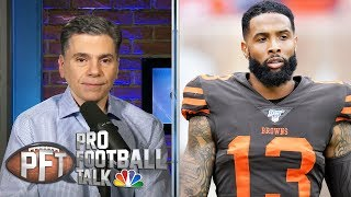 Did Odell Beckahm Jr. ask other teams to 'come get him'? | Pro Football Talk | NBC Sports